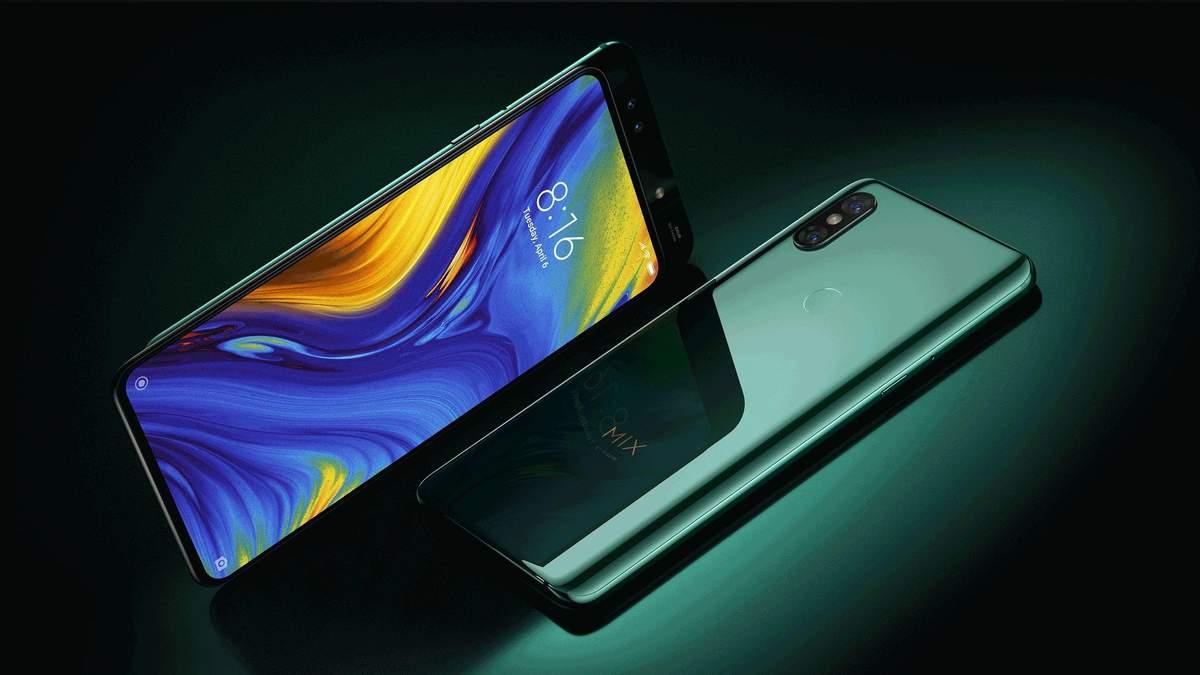 Xiaomi заявила про зниження вартості смартфона  Mi Mix 3