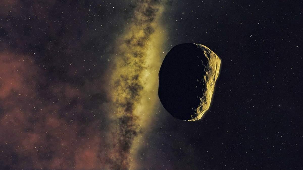 На астероиде есть большие залежи золота и платины