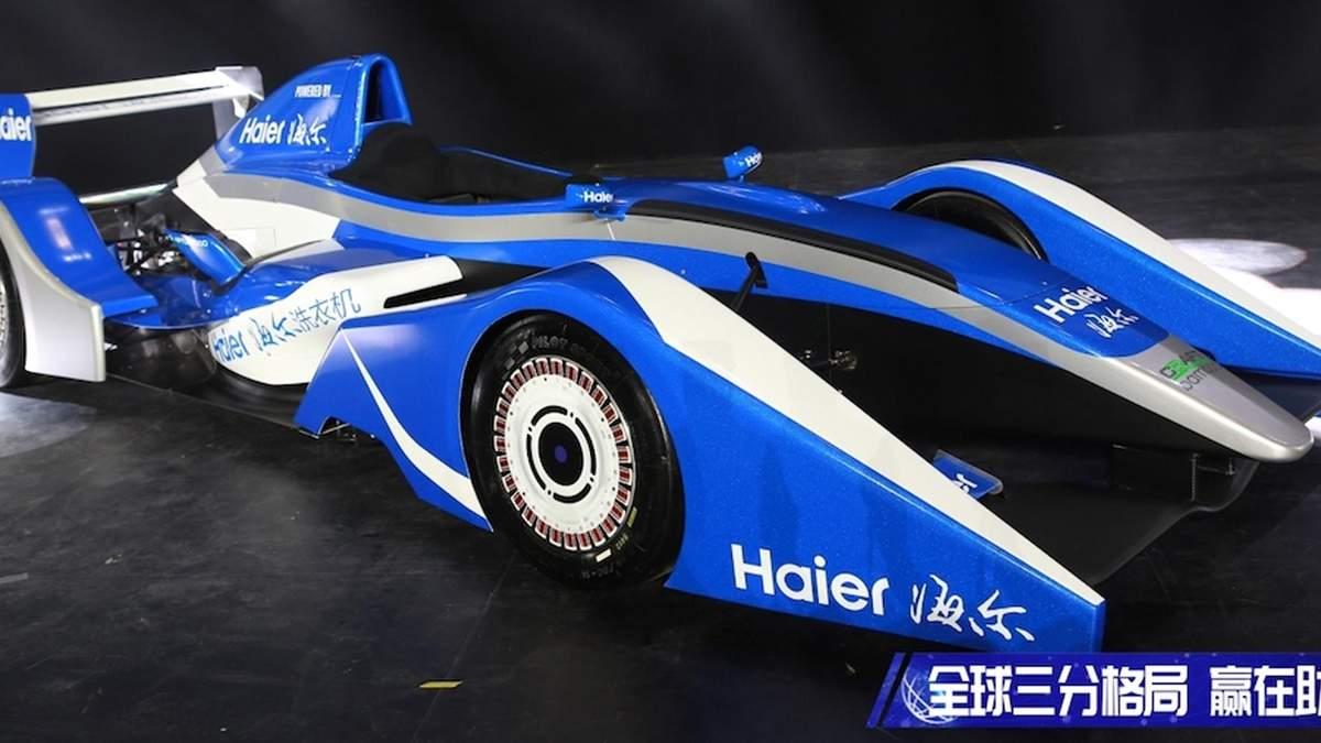 Китайцы создали гоночный болид с двигателем от стиральной машины
