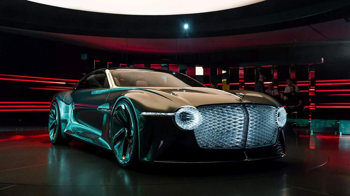 Bentley EXP 100 GT: дизайн, характеристики, фото