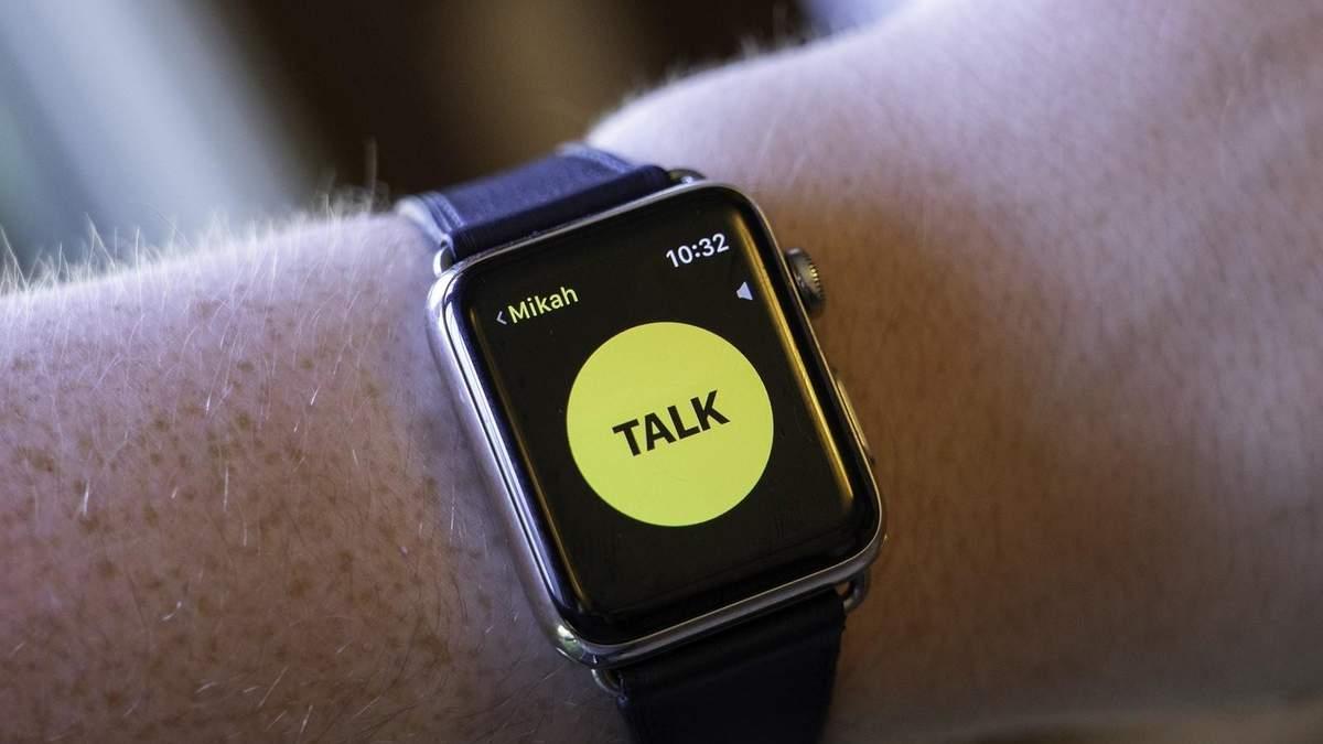 Apple Watch може підслуховувати користувачів