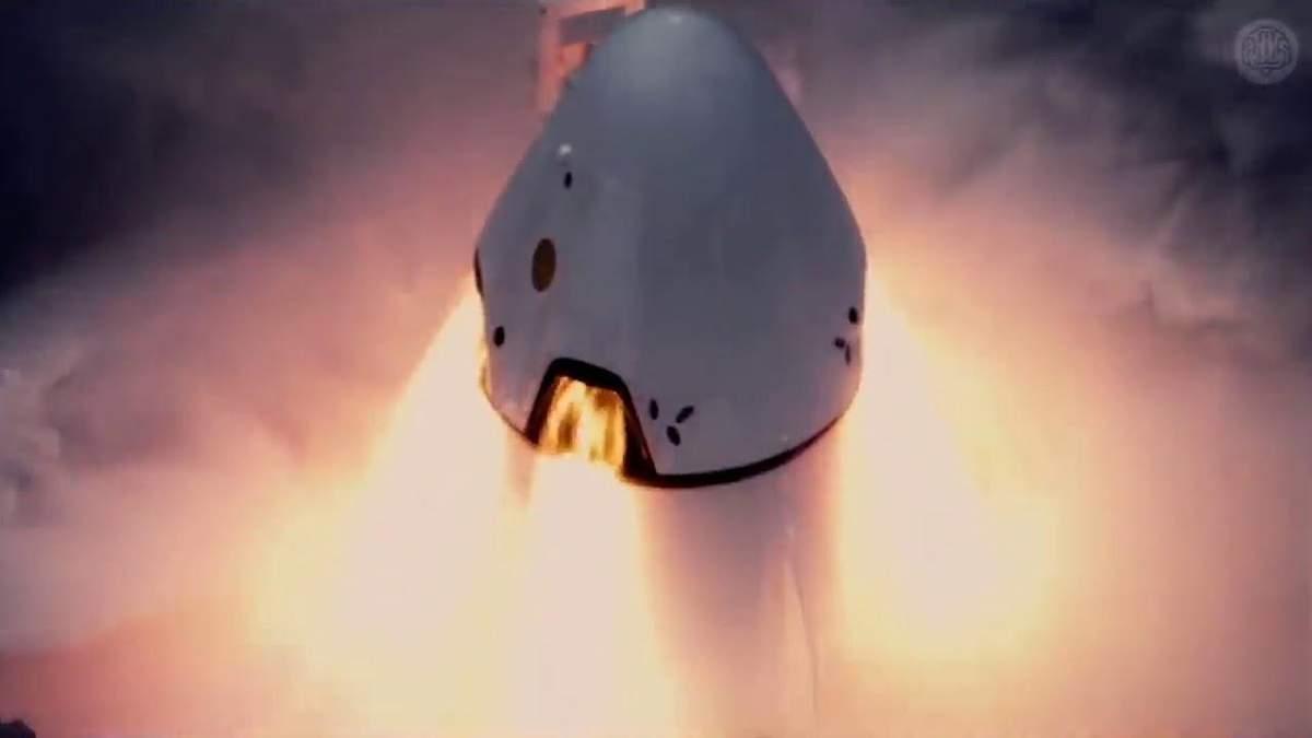 Запуск Crew Dragon