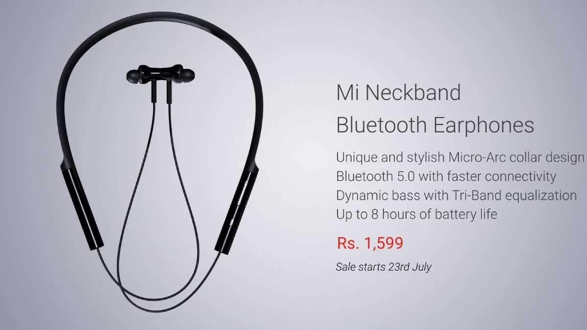 Mi Neckband Bluetooth Earphones – навушники для бігу