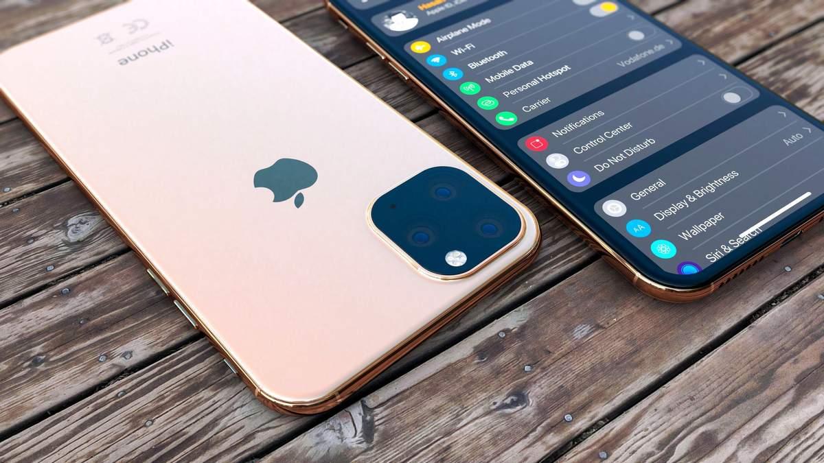 Концепт смартфона iPhone XI