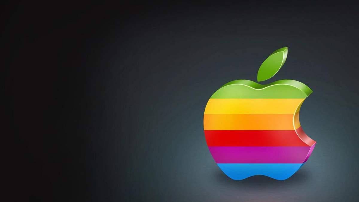 Apple поверне кольорові логотипи на свої пристрої