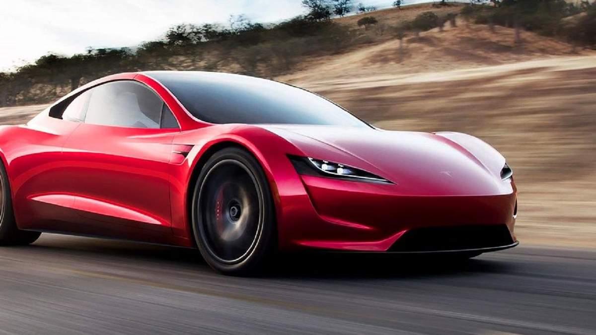 Електрокар Tesla Roadster отримає реактивні двигуни