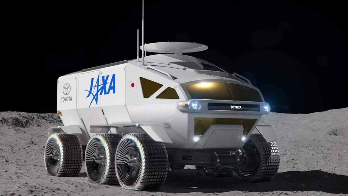 Toyota планирует осваивать Луну