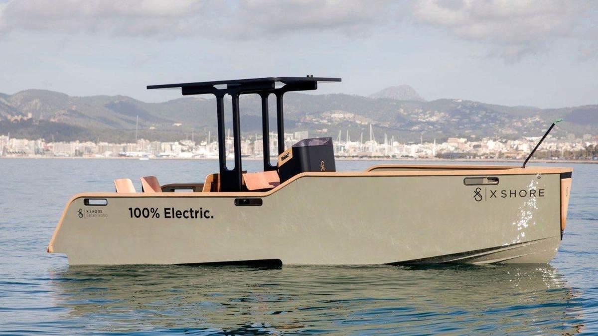 Електричний катер Eelex 8000 - нова модель Tesla