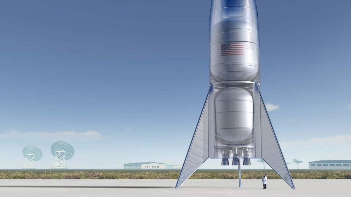 Звездолет SpaceX Starhopper успешно взлетел: видео