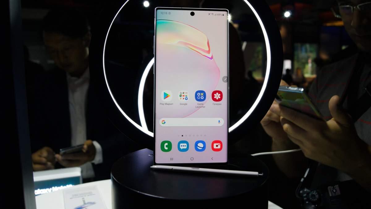 Смартфон Samsung Galaxy Note10: характеристики і ціна