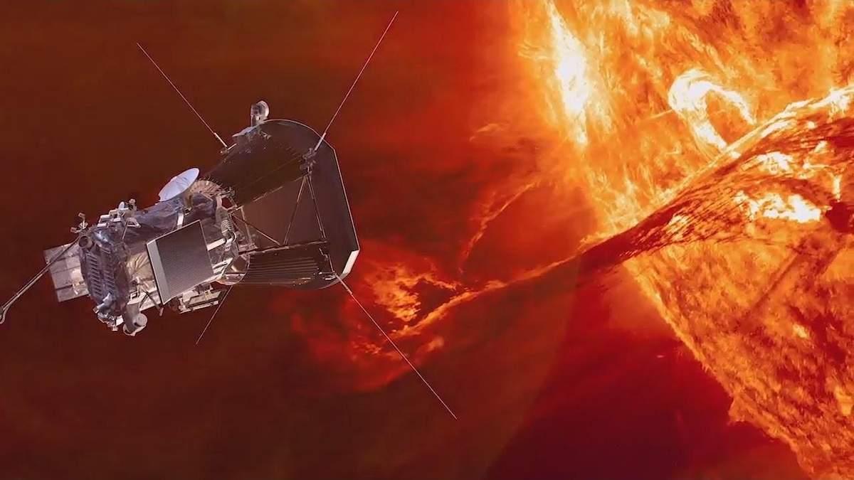 Солнечный зонд Parker