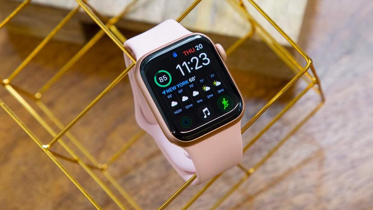 Нові фішки Apple Watch 5: моніторинг шуму, сну та менструального циклу у жінок