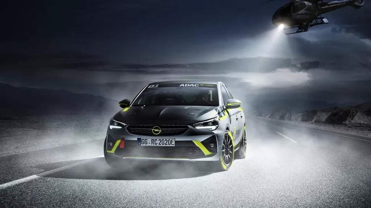 Opel представить перший в світі ралійний електрокар