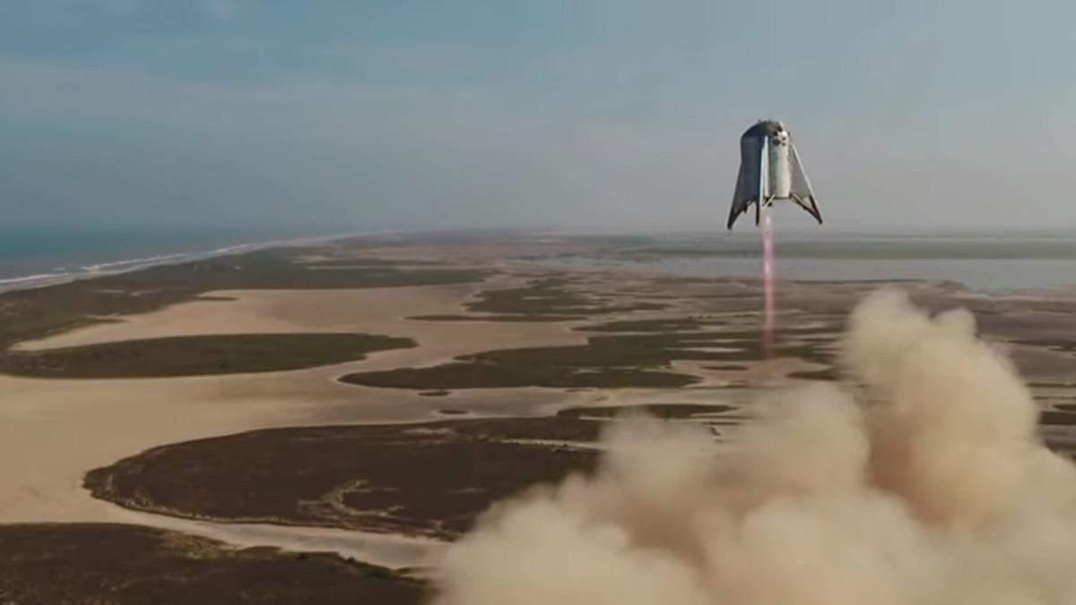 Політ Starhopper пройшов успішно