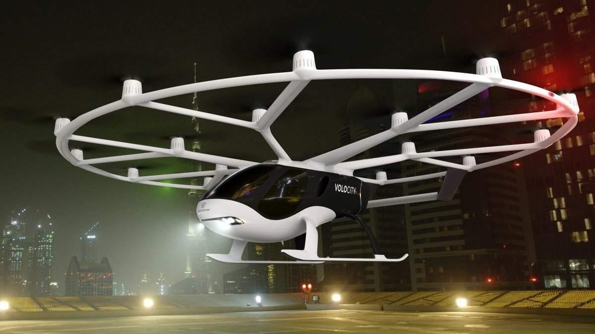 В Германии планируют запустить летающее такси