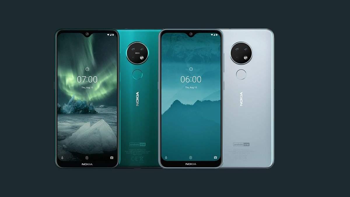 Nokia представила два смартфони