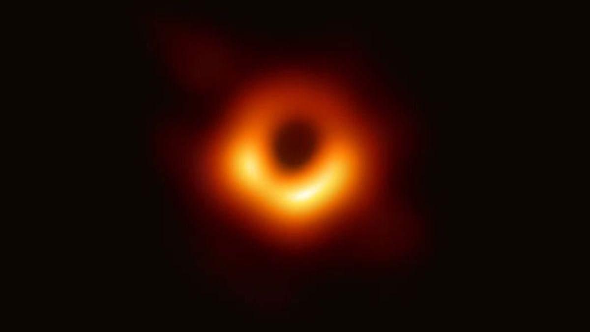 Изображение черной дыры