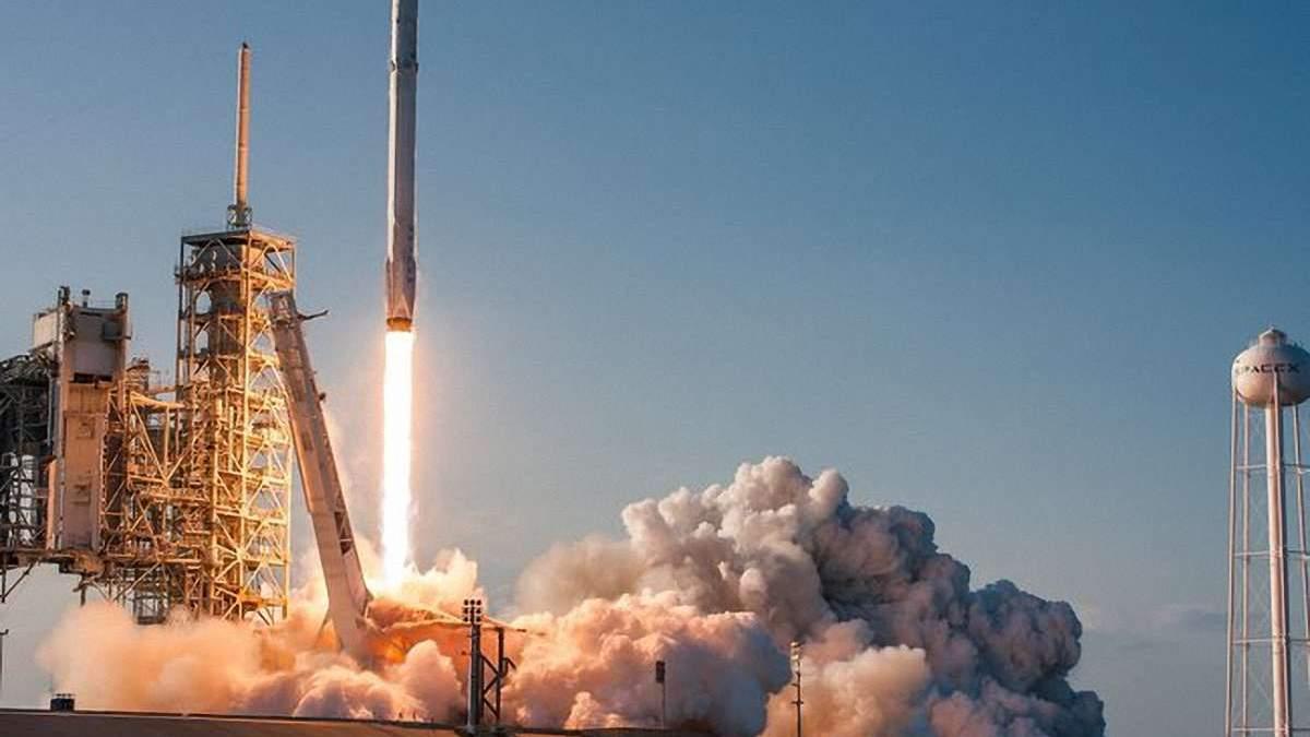 Запуск ракеты SpaceX