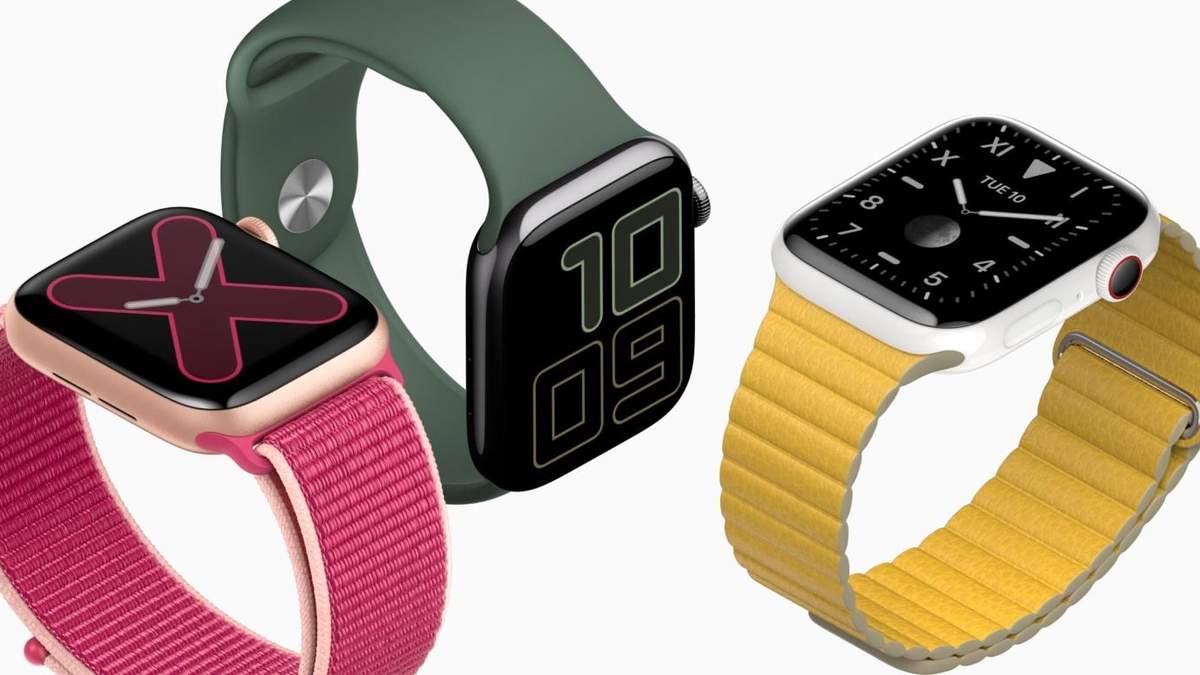 Apple Watch Series 5: цена в Украине