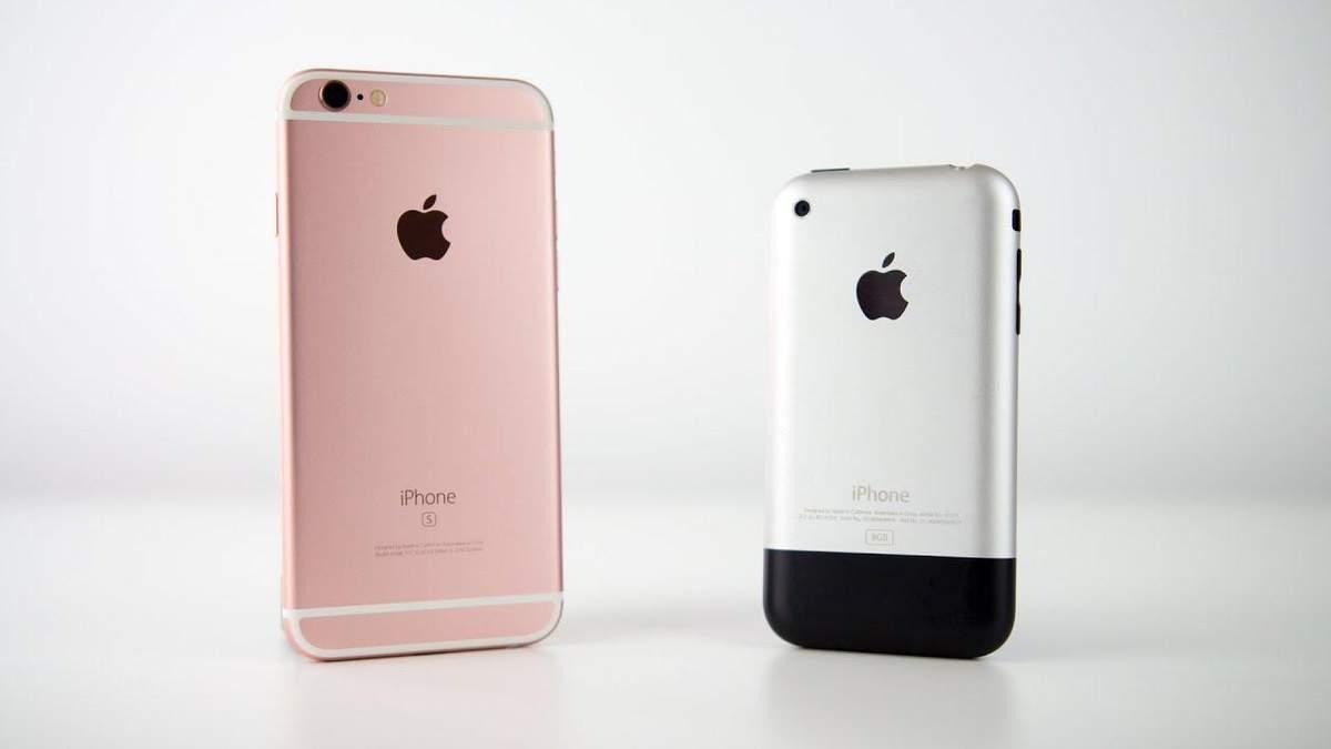Як змінювався iPhone протягом 12 років