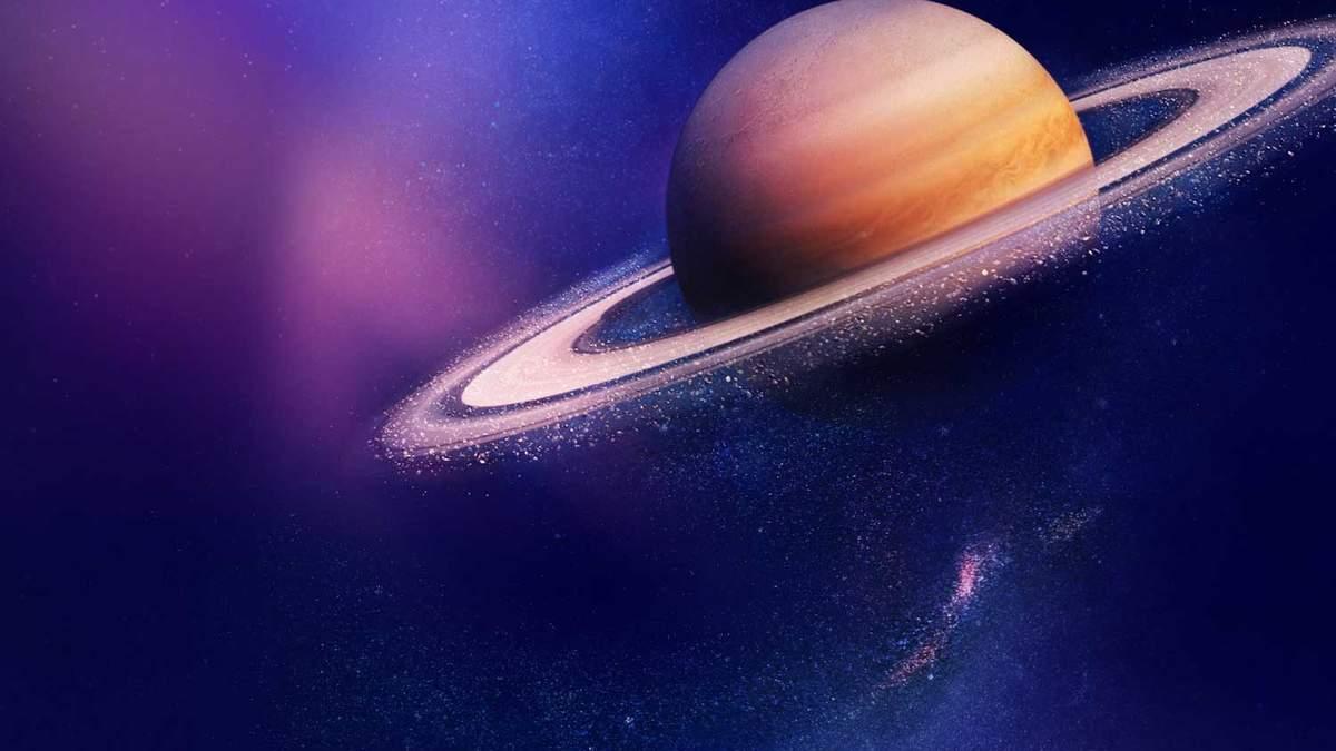 Новый снимок Сатурна