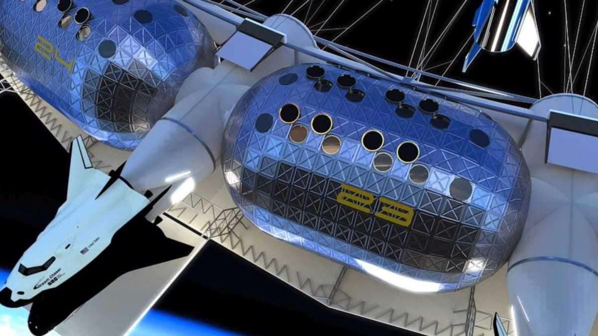 На орбіті Землі відкриють перший в історії космічний готель