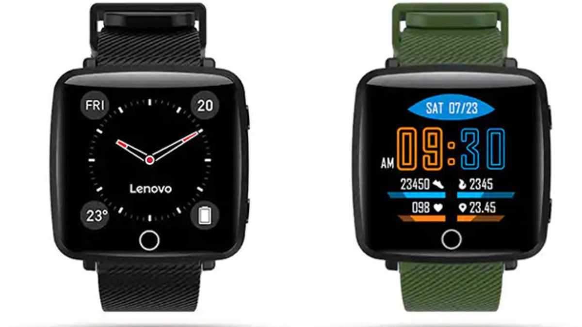 Lenovo випустила бюджетний смарт-годинник