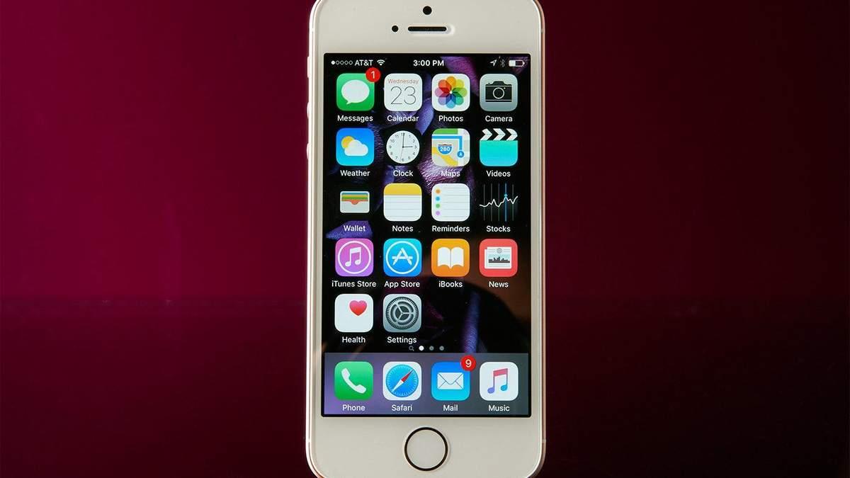 Бюджетний iPhone SE 2 Apple випустить в наступному році