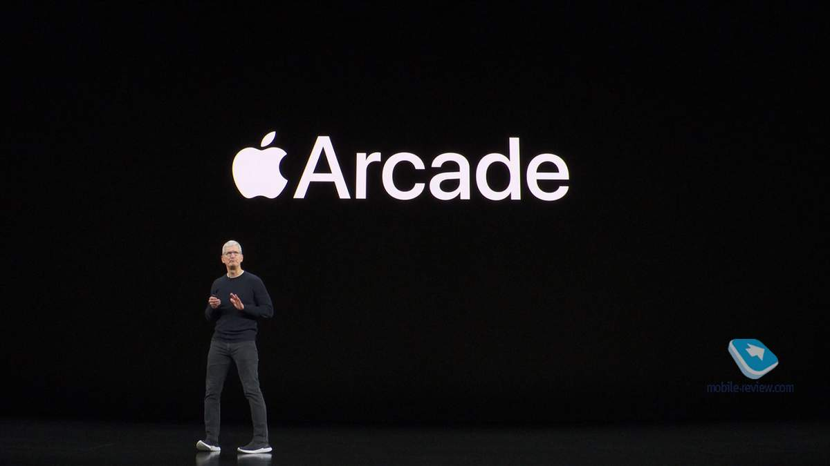 Игровой сервис Apple Arcade уже работает