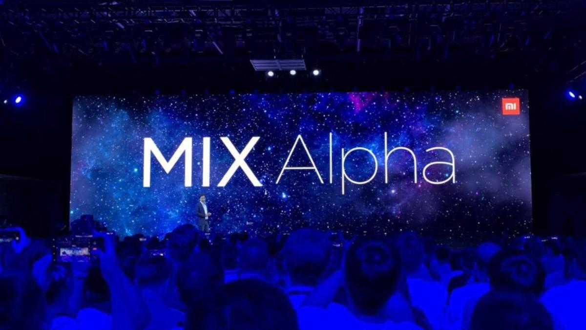 Xiaomi Mi Mix Alpha: представили революційний смартфон із 108-мегапіксельною камерою