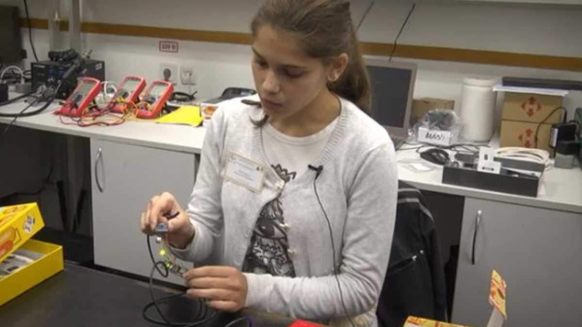 Украинская школьница разработала интересный гаджет