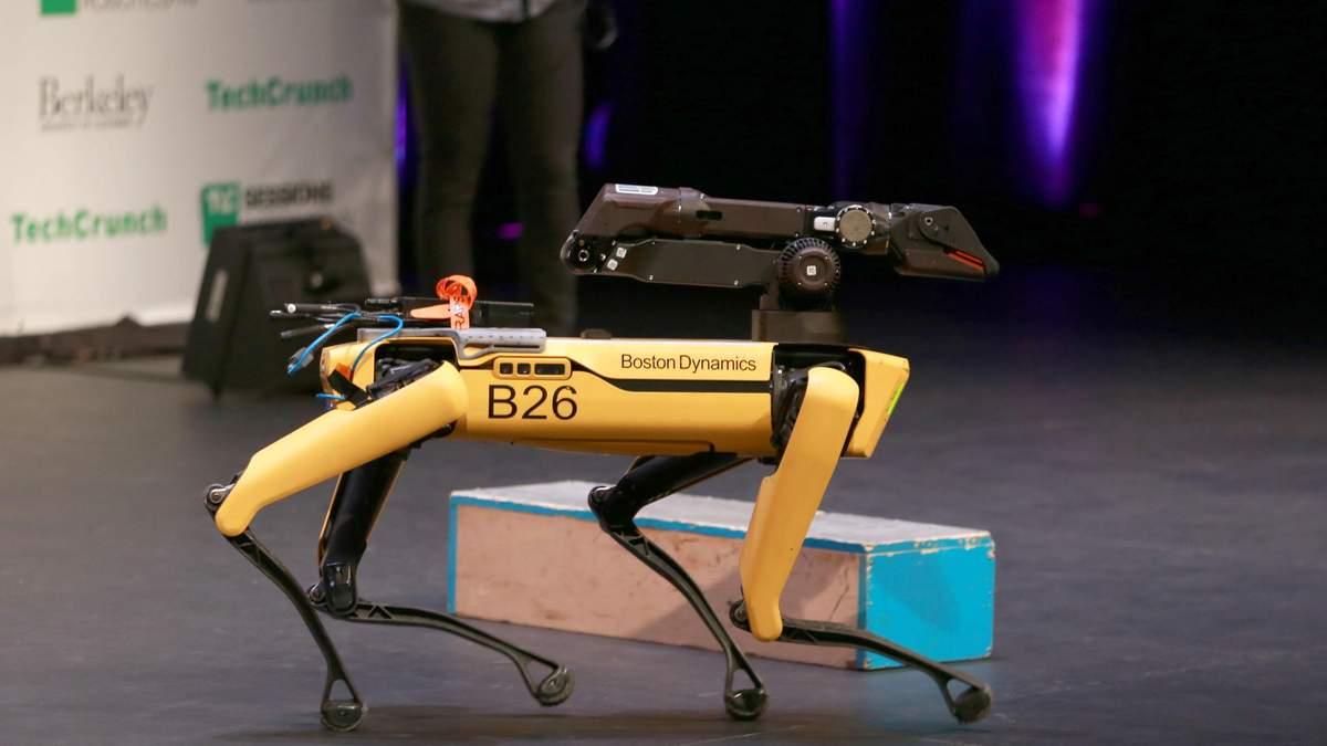 Легендарного робота-пса Boston Dynamics можна купити