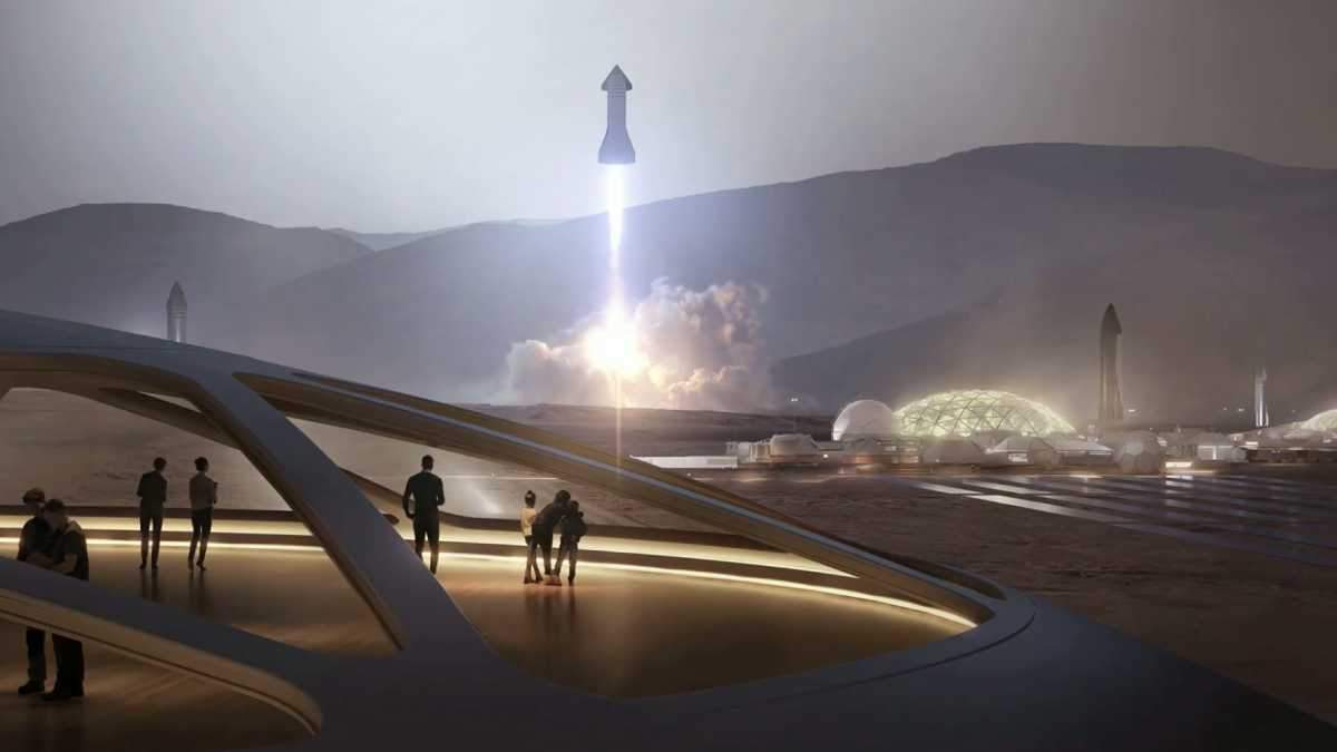 Маск представив космічний корабель Starship