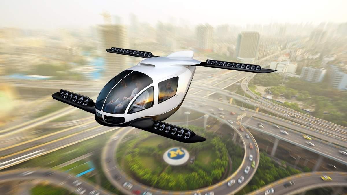 Hyundai працює над власним літаючим авто