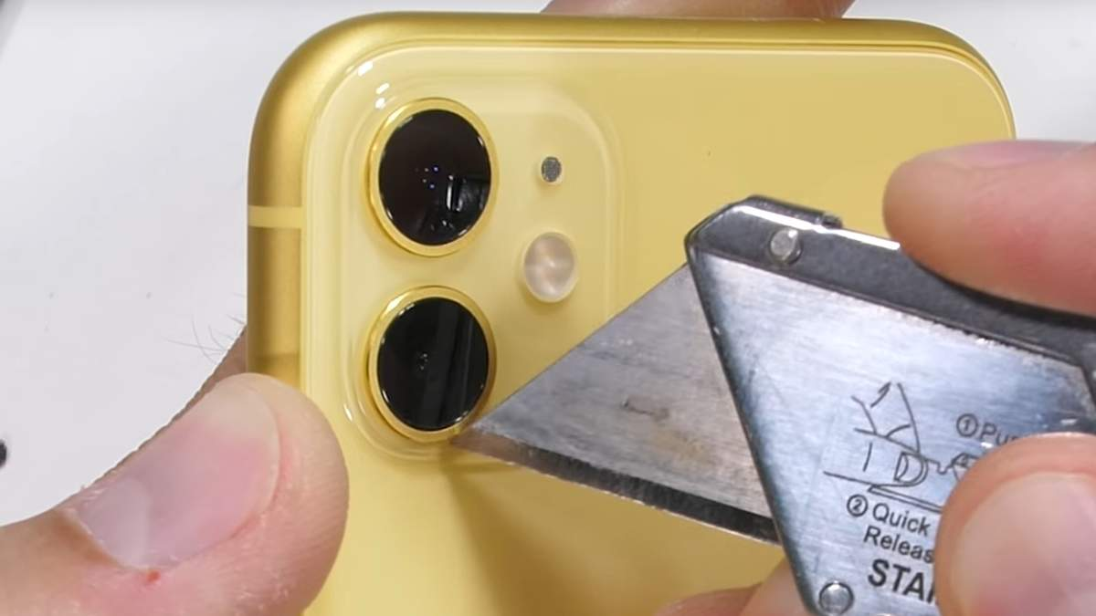 iPhone 11 прошел тест на прочность
