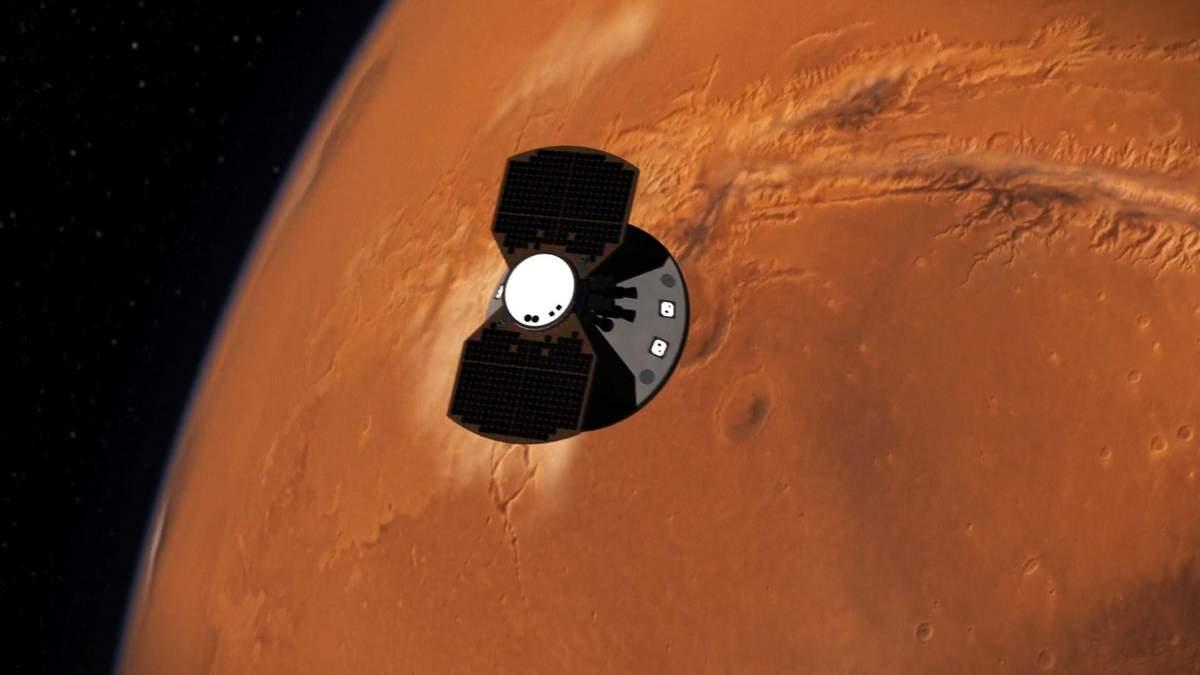 Сейсмічна активність на Марсі