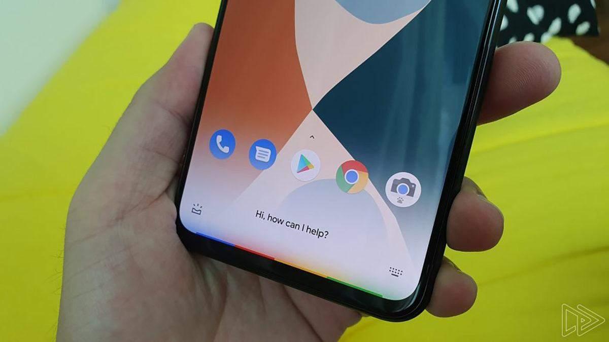 Як працює управління жестами на смартфоні Google Pixel 4