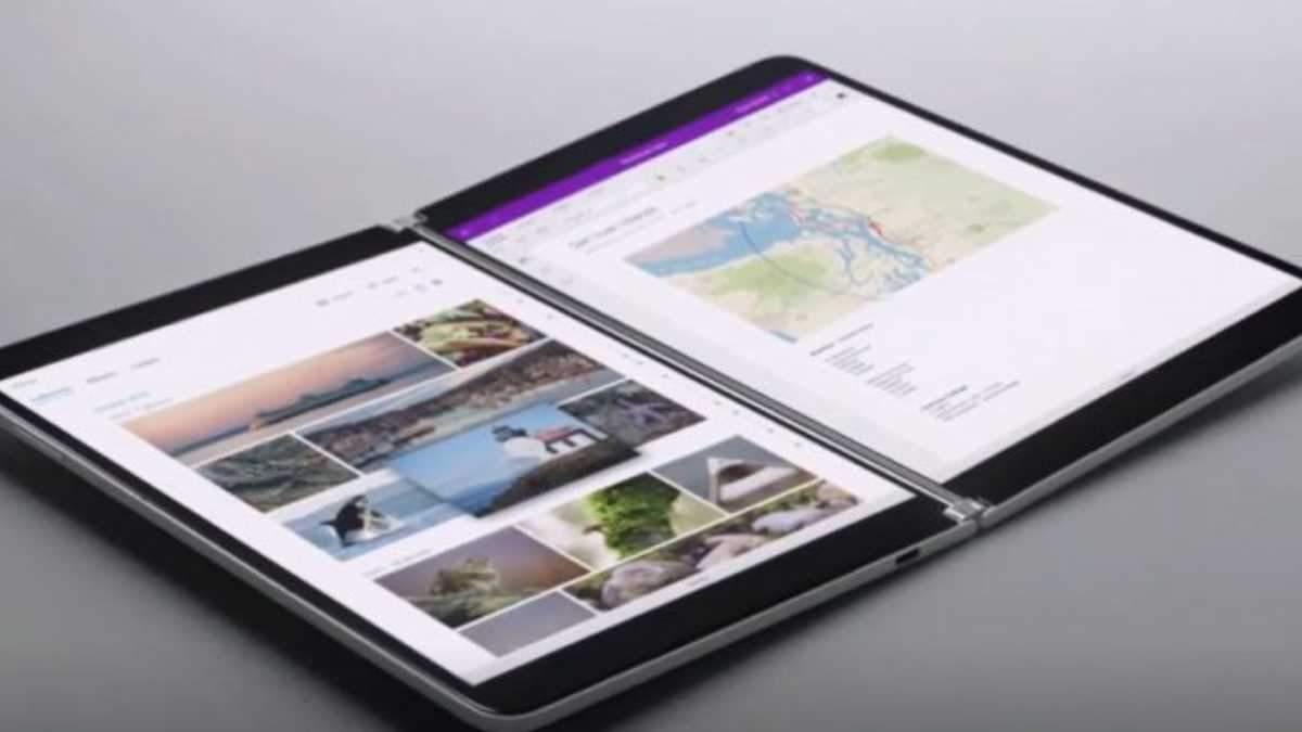 Microsoft представила складной планшет Surface Neo