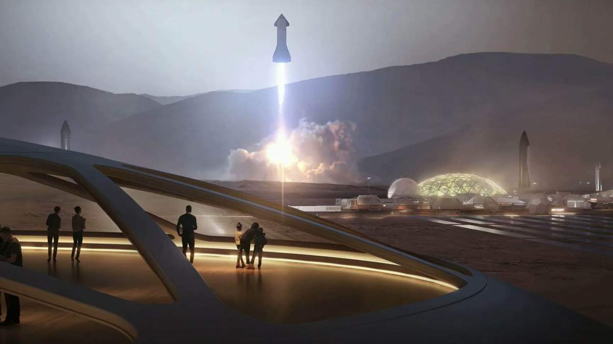 Полет космического корабля SpaceX Starship показали на видео