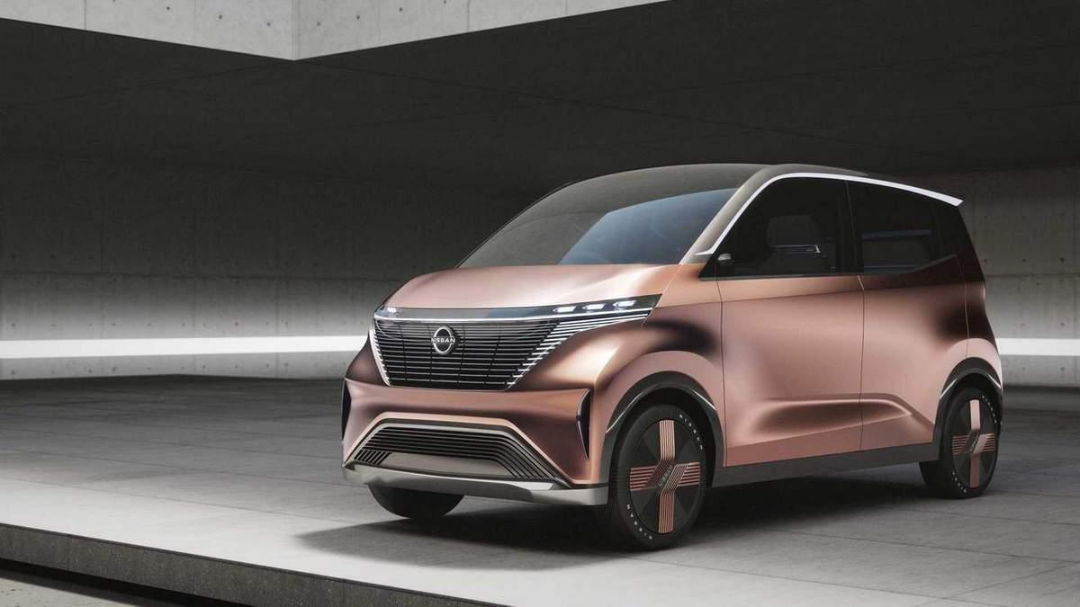 Nissan анонсировала свой электромобиль будущего: видео