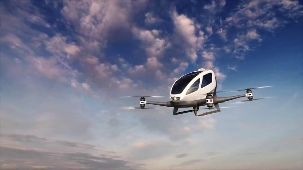 Uber и NASA тестируют систему управления воздушным такси: детали