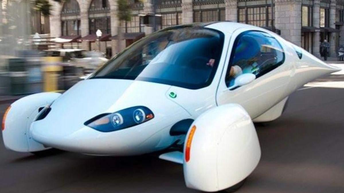 Створили триколісний електромобіль, який не потрібно заряджати