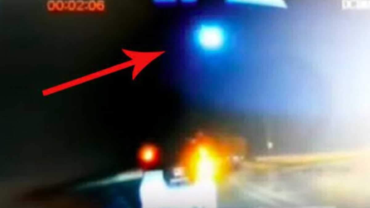 Большой метеорит упал на территории Китая: видео