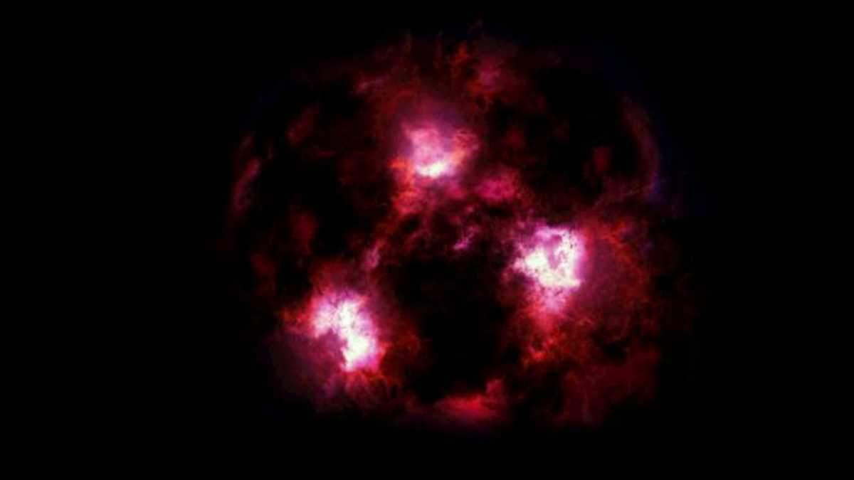 """Вчені виявили  """"міфічну"""" галактику"""