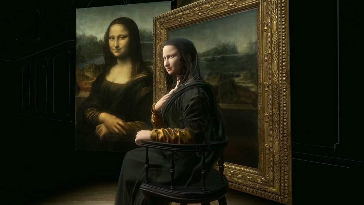 У Луврі з'явилась 3D-копія Мони Лізи