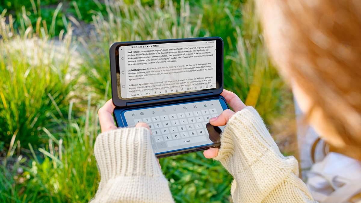 LG G8XThinQ Dual Screen вийшов на глобальний ринок