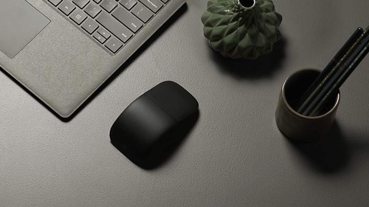 Microsoft представила гнучку комп'ютерну мишку: ціна в Україні