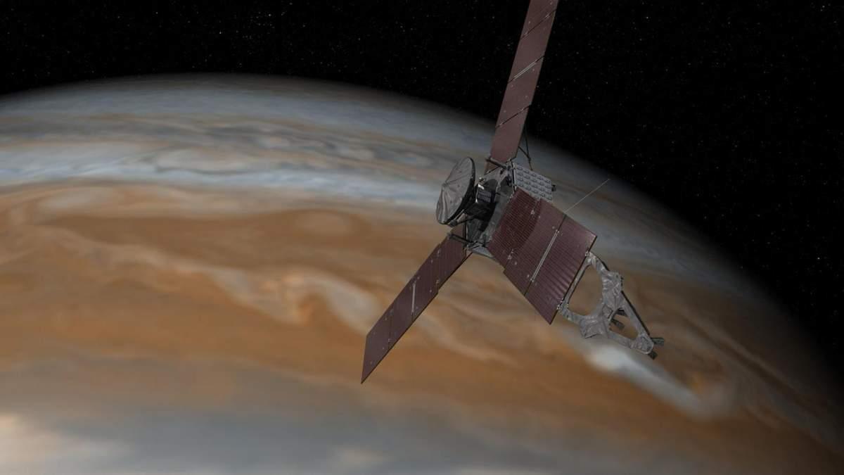 В NASA показали величезний ураган на Юпітері