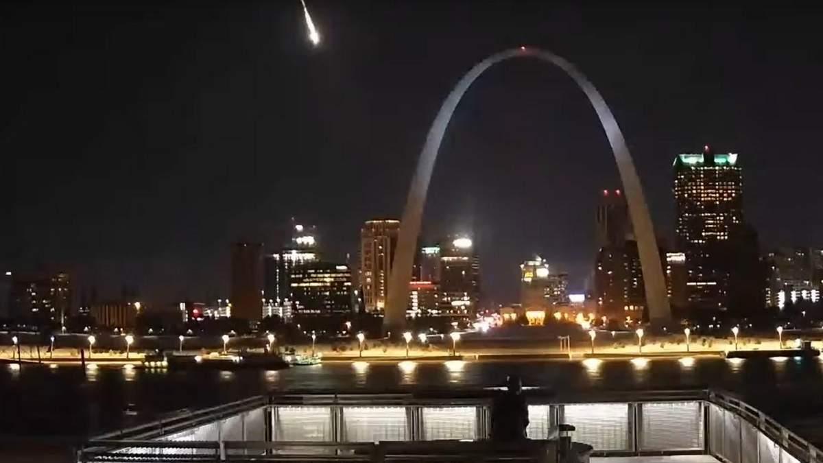 Метеорит в США 2019 – відео, фото падіння