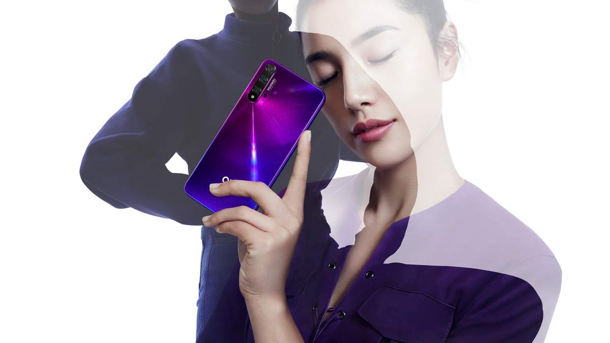 Флагман Huawei Nova 5T – ціна в Україні, технічні характеристики